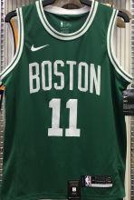 Celtics Irving #11 Green NBA Jerseys Hot Pressed