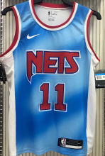 Nets IRVING#11 Limited Edition Blue NBA Jerseys Hot Pressed