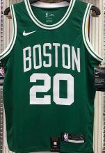 Celtics ALLEN #20 Green NBA Jerseys Hot Pressed