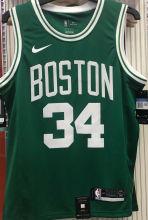 Celtics PIERCE #34 Green NBA Jerseys Hot Pressed