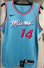 2021 Miami Heat HERRO #14 Blue NBA Jerseys Hot Pressed