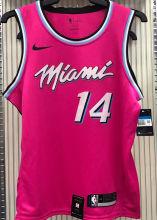 2021 Miami Heat HERRO #14 Pink NBA Jerseys Hot Pressed