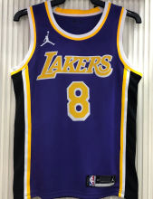2021 LA Lakers Jordan Bryant # 8 Purple NBA Jerseys Hot Pressed