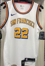 Warriors Francisco WIGGINS #22 White NBA Jerseys Hot Pressed