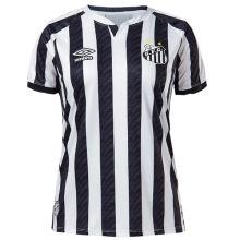 2020/21 Santos  Black And White Women Soccer Jersey