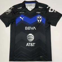 2021 Monterrey Third Black Fans Soccer Jersey