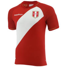 2021 Peru Away Red Fans Soccer Jersey