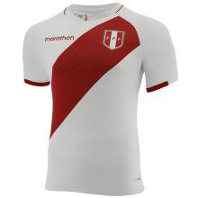 2021 Peru Home White Fans Soccer Jersey