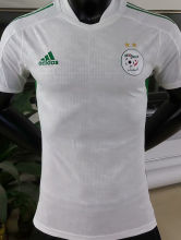 2021 Algeria Home White Player Version Soccer Jersey