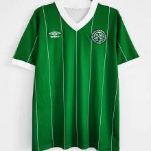 1984/1986 Celtic Away Green Retro Soccer Jersey