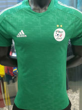 2021 Algeria Away Green Player Version Soccer Jersey