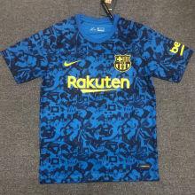 2021 BA  Blue Pre-match Camouflage Jersey