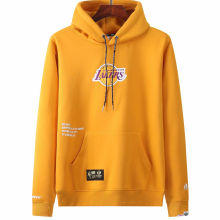 2021 Lakers Aape NBA Yellow Hoody
