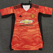2021 M Utd Orange Training Jersey