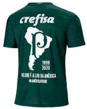 2020/21 Palmeiras 1:1 Quality Home Fans Soccer Jersey