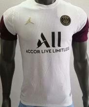 2021 PSG JD White Player Version Soccer Jersey