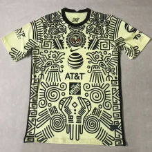 2021 Club America Yellow Fans Soccer Jersey