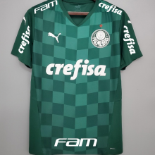 2021/22 Palmeiras 1:1 Quality Home Fans Soccer Jersey(All AD 全广告)