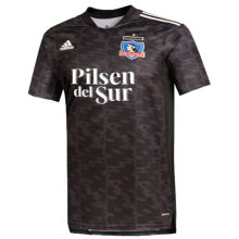 2021 Colo-Colo Away Black Fans Soccer Jersey