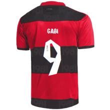 GABI #9 Flamengo 1:1 Quality Home Fans Soccer Jersey 2021/22