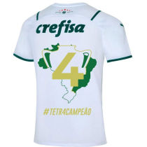 2021/22 新款 Palmeiras 1:1 Quality Away White Fans Soccer Jersey