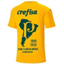 2020/21 Palmeiras 1:1 Quality GK Yellow Fans Soccer Jersey