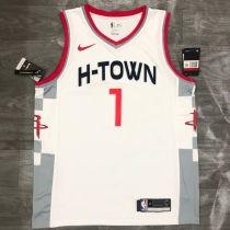 2021 Rockets WALL #1 City White NBA Jerseys Hot Pressed
