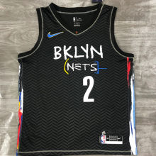 2021 Nets GRIFFIN #2 City Edition Black NBA Jerseys Hot Pressed
