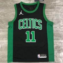 2021 Celtics Jordan IRVING #11 Green NBA Jerseys Hot Pressed
