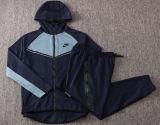 2021 Hoody Royal Blue Zipper Jacket Tracksuit