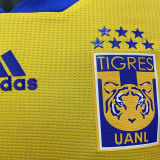 2021 U.A.N.L Tiger Yellow Home Player Version Soccer Jersey