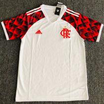 2021/22 Flamengo Away White Fans Soccer Jersey