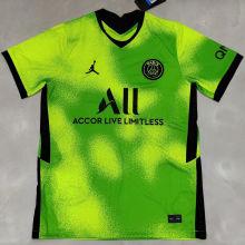 2021 PSG JD Fourth Away Fluorescent Green Training Jersey
