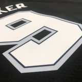 2021 Spurs PARKER #9 City Edition Black NBA Jerseys Hot Pressed