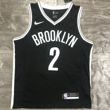 Nets GRIFFIN #2 Black NBA Jerseys Hot Pressed