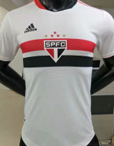 2021/22 Sao Paulo Home Player Version Soccer Jersey