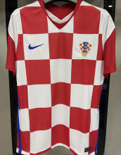 2020 Euro Croatia 1:1 Quality Home Fans Soccer Jersey