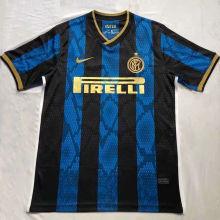 2021/22 In Milan Home Blue Black Fans Soccer Jersey