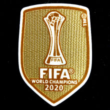 2020 FIFA Club World Cup Champions Patch 2020世俱杯金杯