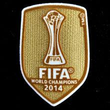 2014 FIFA Club World Cup Champions Patch 2014世俱杯金杯