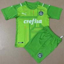 2021/22 Palmeiras Green GK Kids Soccer Jersey