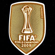 2009 FIFA Club World Cup Champions Patch 2009世俱杯金杯
