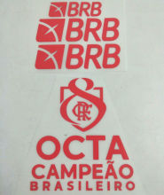2020/21 Flamengo Third Red  Patch