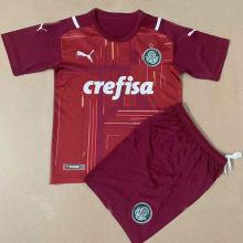 2021/22 Palmeiras Red GK Kids Soccer Jersey