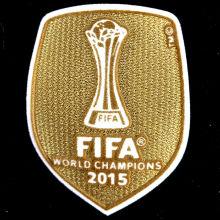 2015 FIFA Club World Cup Champions Patch 2015世俱杯金杯