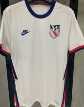 2021 U 1:1 Quality Home White Fans Soccer Jersey