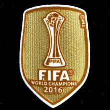 2016 FIFA Club World Cup Champions Patch 2016世俱杯金杯