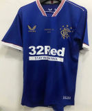 2020/21 Rangers Home Champion Edition Fans Soccer Jersey