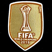 2019 FIFA Club World Cup Champions Patch 2019世俱杯金杯