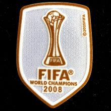 2008 FIFA Club World Cup Champions Patch 2008世俱杯金杯